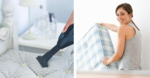 How to clean stubborn stains out of a mattress