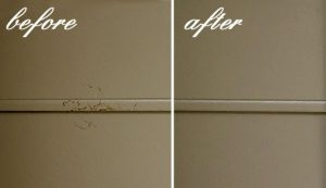 How to remove grease stains out of your walls
