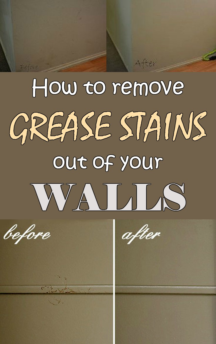 How To Remove Grease Stains Out Of Your Walls Cleaning