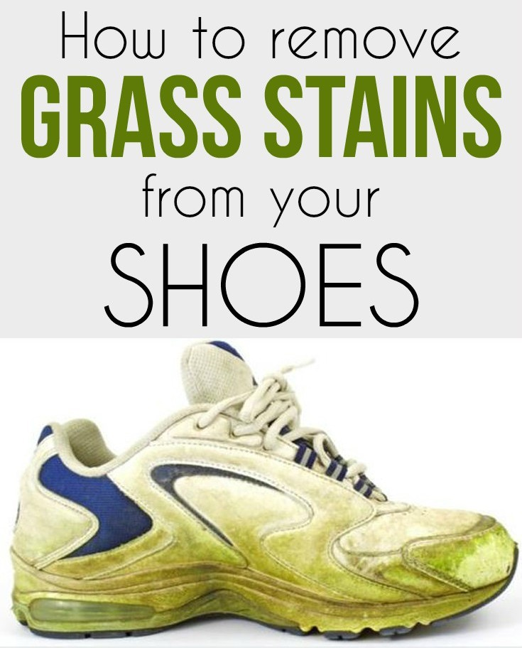 How To Remove Grass Stains From Your Shoes Cleaning