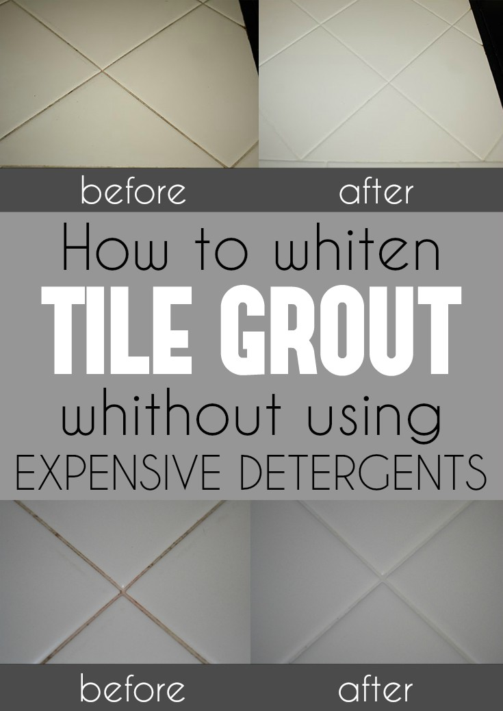 How To Whiten Tile Grout Without Using Expensive Detergents   Cleaning  Ideas.com