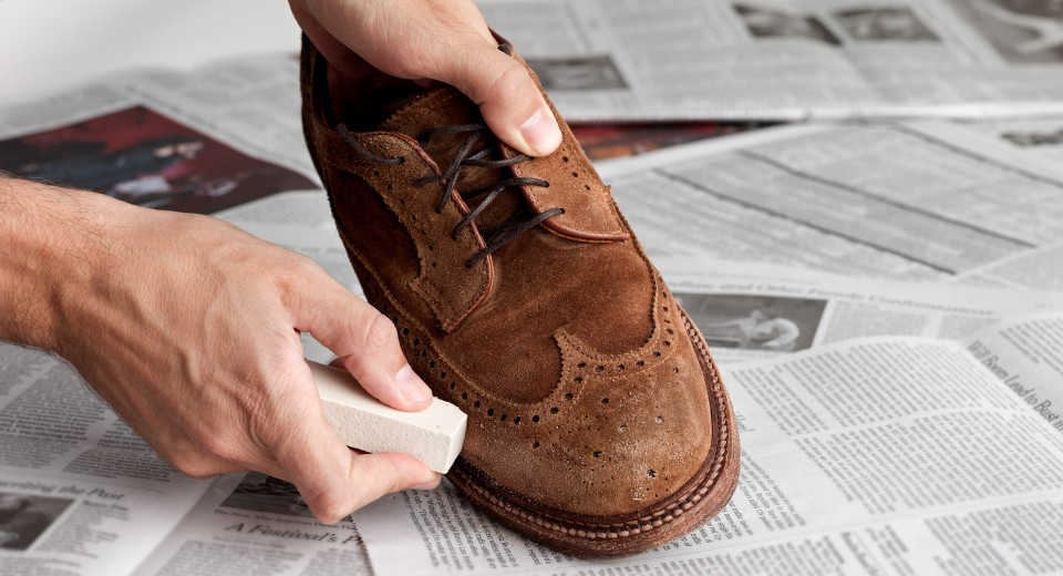 How To Make Stained Suede Shoes Look Like New Cleaning