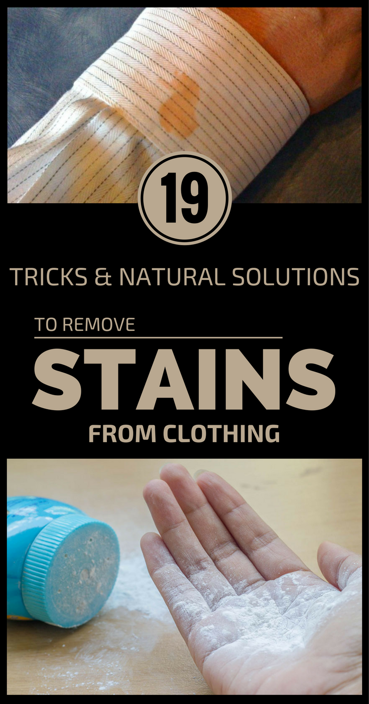 19 tricks and natural solutions to remove stains from for How to remove ink stain from cotton shirt