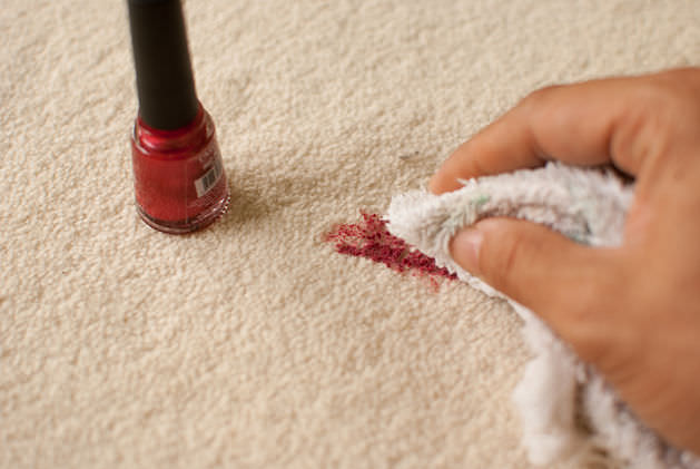 How To Remove Nail Polish Stains From Carpet Cleaning