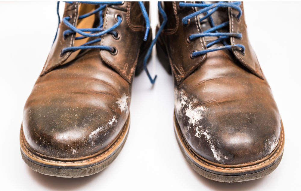 How To Clean Salt Stains From Leather Shoes Without