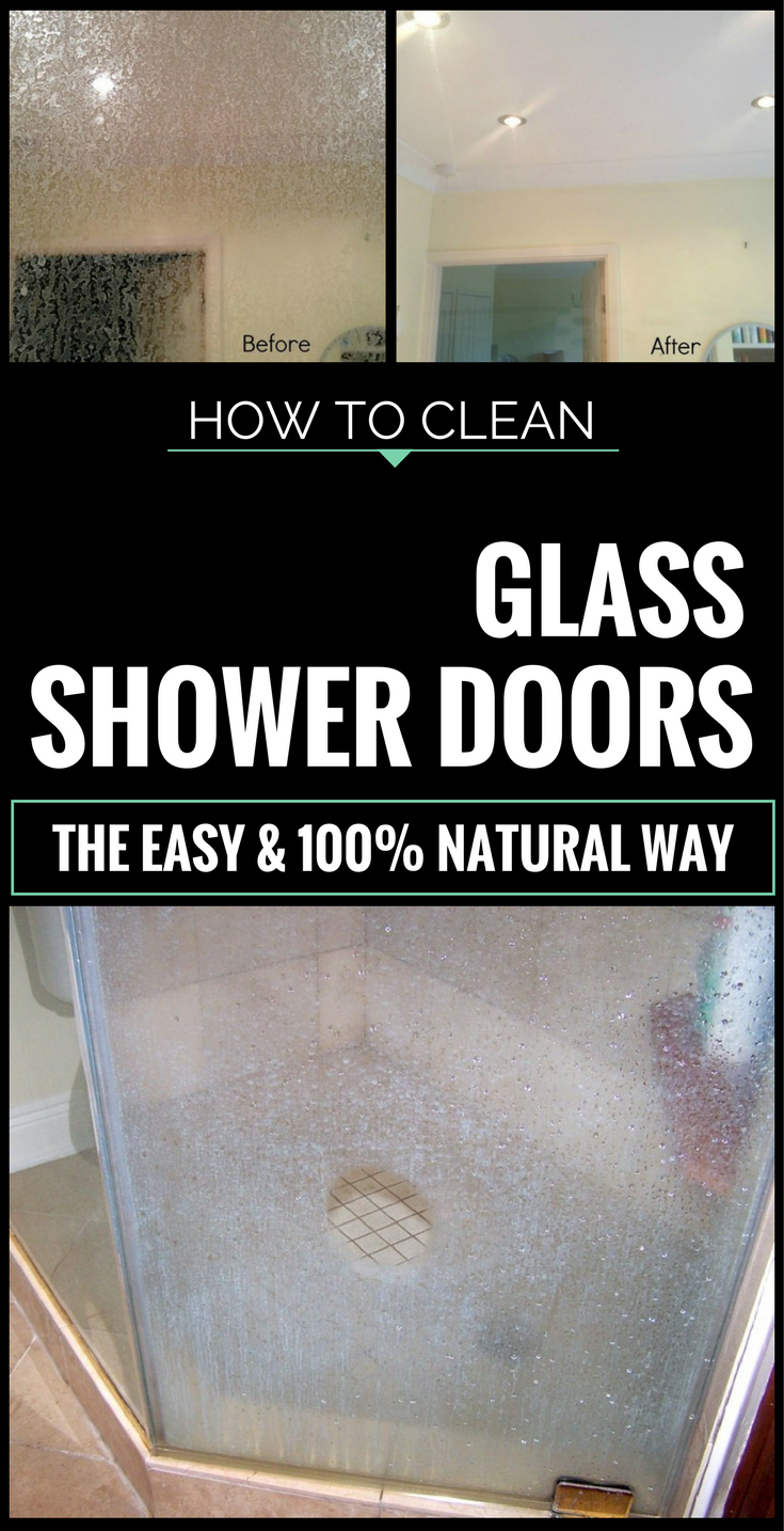 How to clean glass shower doors the easy and 100 natural way how to clean glass shower doors the easy and 100 natural way cleaning ideas planetlyrics