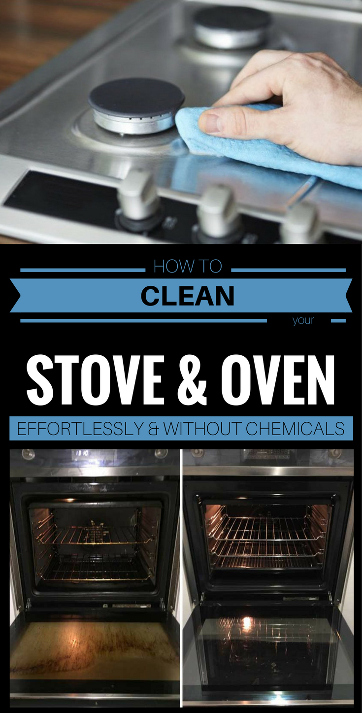 How To Clean Your Stove And Oven Effortlessly Without