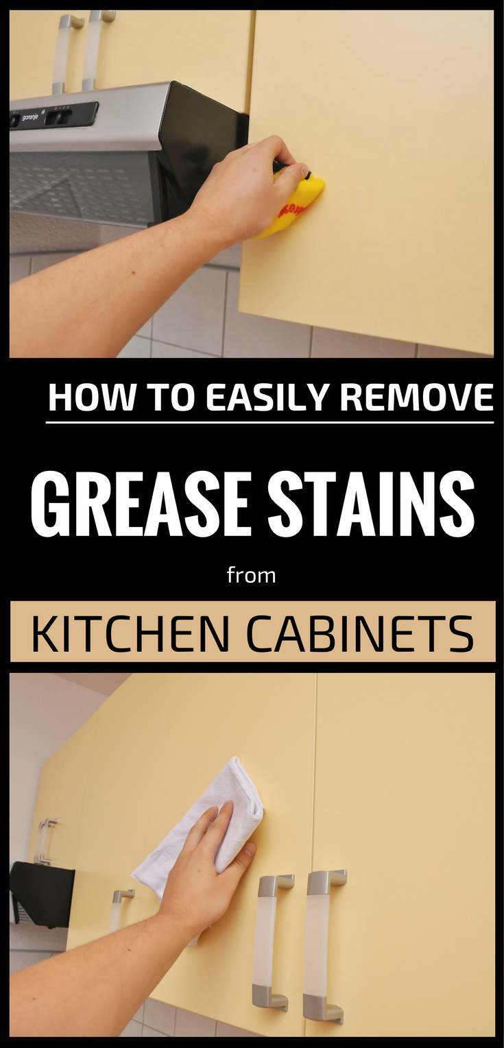 How To Remove Grease From Your Kitchen Cabinets