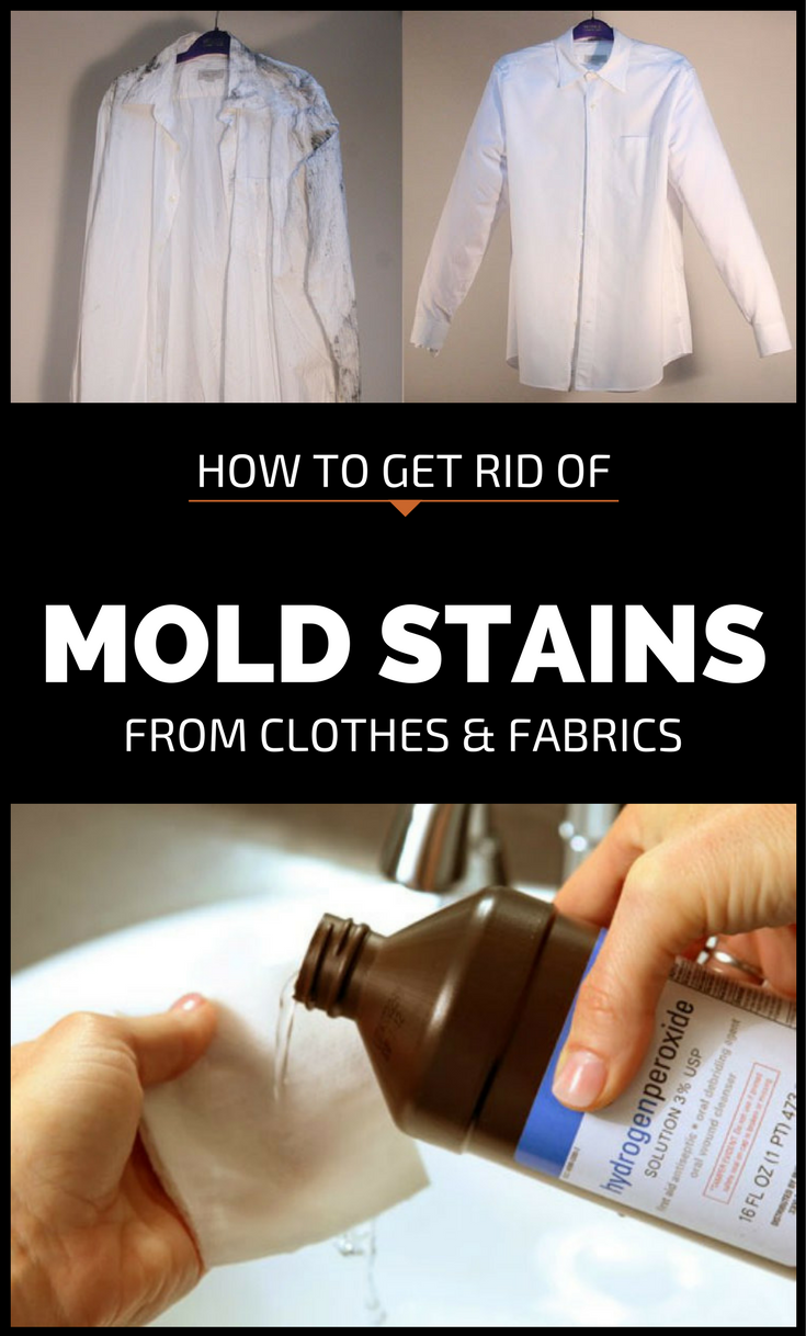 How To Get Rid Of Mold Stains From Clothes And Fabrics ...