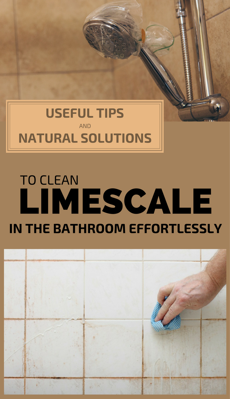 Useful Tips And Natural Solutions To Clean Limescale In The Bathroom ...