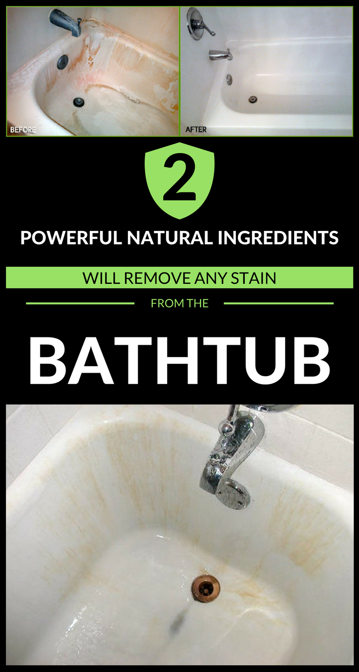 2 Powerful Natural Ingredients Will Remove Any Stain From