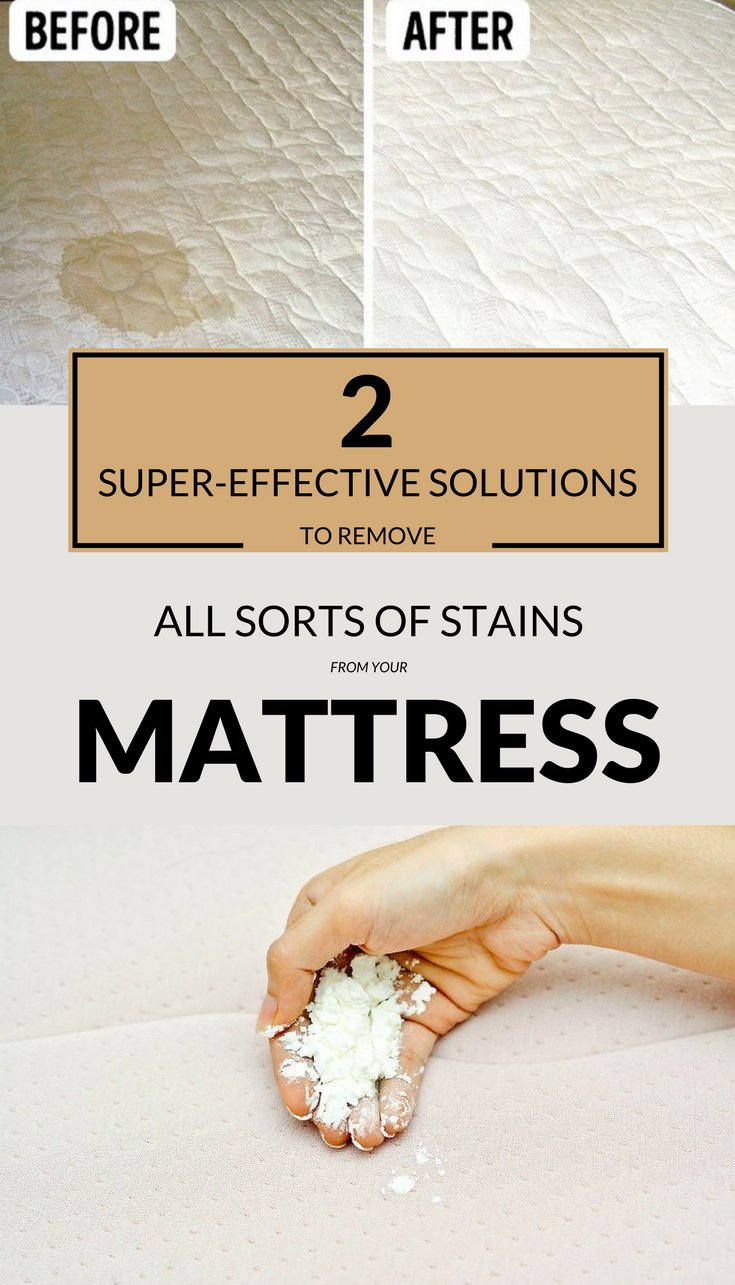 how to clean period blood stains from mattress