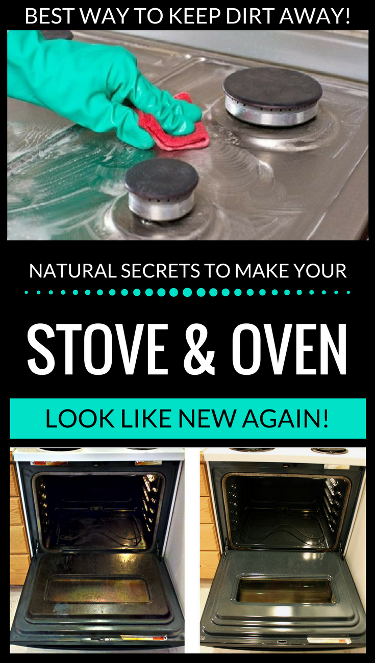 Natural Secrets To Make Your Stove And Oven Look Like New
