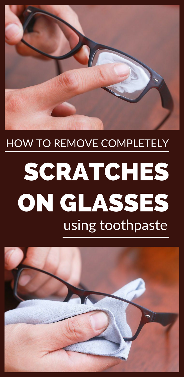 how to remove completely scratches on glasses using toothpaste cleaning. Black Bedroom Furniture Sets. Home Design Ideas
