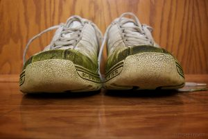 On A Budget Cleaning Solution To Remove Grass Stains On Sneakers