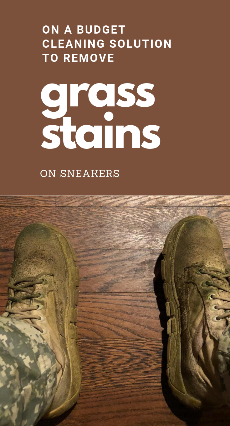On A Budget Cleaning Solution To Remove Grass Stains On