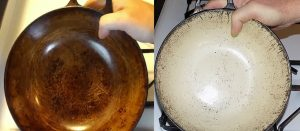 Highly-Effective Method To Clean And Remove Yellow Stains On Enamel Cookware