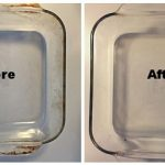 2 Steps To Remove Burnt Grease From Pyrex Cookware