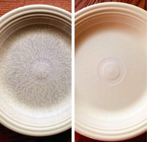 How To Remove Scuff Marks From Ceramic Dishes